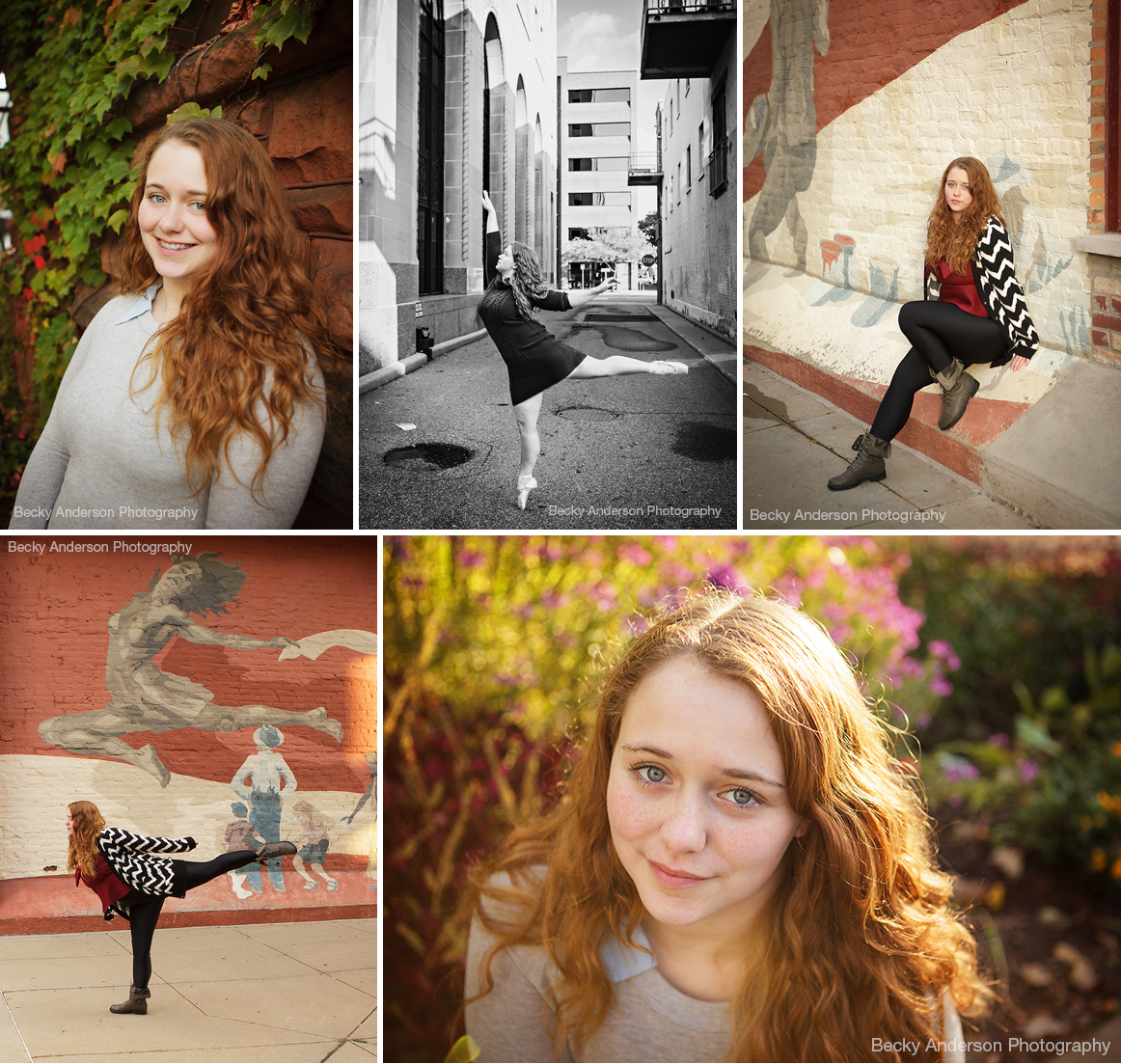 Kalamazoo Central Senior portraits