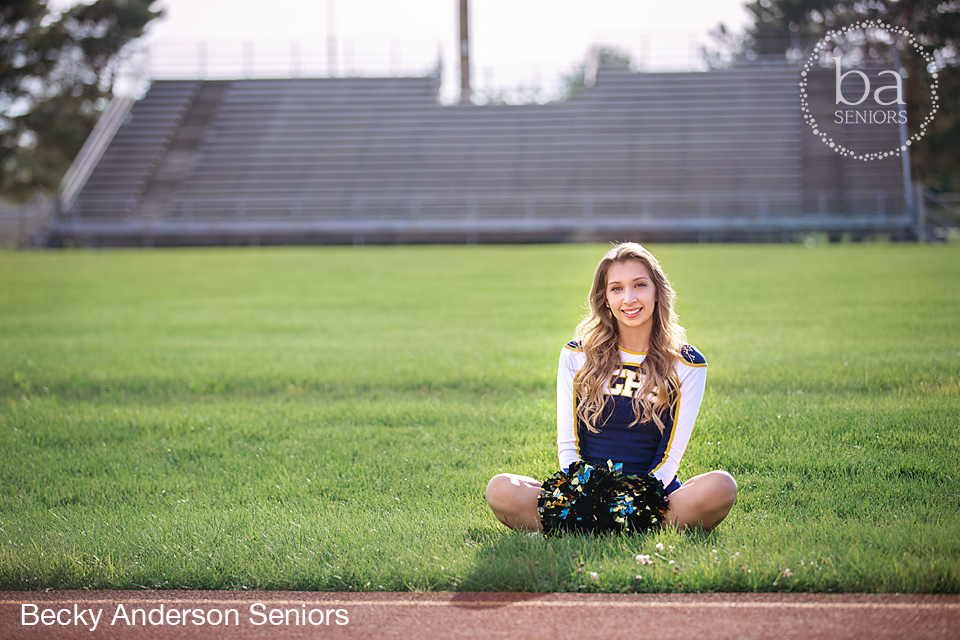 Portage Central Cheer - Carly Fleck