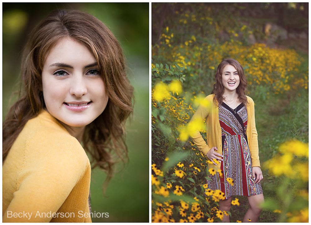 Becky ANderson SEniors Milham Park Senior photos