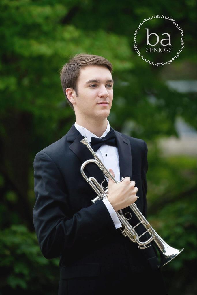 Trumpet band senior Pictures